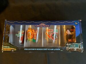 National Lampoon's Christmas Vacation Collector's Series Pint Glass 4-Pack