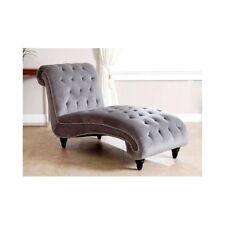 Chaise Lounge Chair For Bedroom Living Room Furniture Upholstered Sofa Velvet