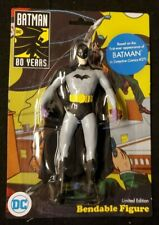 "BATMAN - 5.5""  Bendable Poseable 80th Anniversary Detective Comics Bendy Figure"