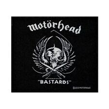 Motorhead Bastards Patch Rock Band Album Art Heavy Metal Music Sew On Applique