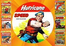 Hurricane & Speed UK Comics On DVD Rom