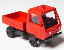 H0 Multicar M 25 Kleintransporter Pritsche Feuerwehr Blaulicht DDR TOP 13666