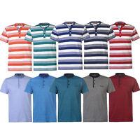 PIERRE CARDIN Henley T-Shirt T Shirt TShirt S M L XL XXL 2XL