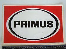VINTAGE PRIMUS OUTDOOR AUSTRALIA ADVERTISING SHOP POS PROMO STICKER COMPANION
