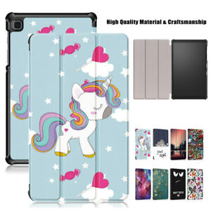 For Samsung Galaxy Tab A7 Lite SM-T220/T225 Flip Stand Pattern Cover Case
