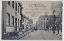 Uerdingen a. Rh. Partie am Markt mit Rathaus Straßenansicht AK 1916 Feldpost