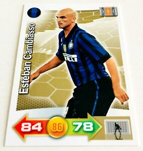 Esteban CAMBIASSO - Inter ADRENALYN XL card Calciatori PANINI 2011-12 NEW RARA