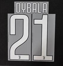 Juventus Turin Dybala Name Set 2017/2018 home Juve Serie A Italy Flock