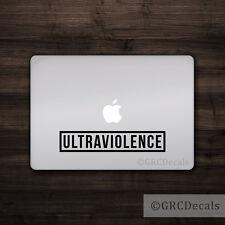 Ultraviolence - Vinyl Decal Mac Apple Laptop Sticker Macbook Clockwork Orange