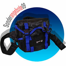 SCHWARZWOLF Rover Mini Rucksack blau schwarz Kameratasche Bauch Kamera Tasche