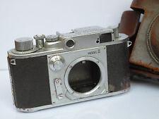 Minolta 35 Model 11 II Vintage Rangefinder Camera 39mm Leica Mt Case fr Parts