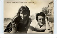 Progress Film Starfoto Echtfoto-AK DDR Marina VLADY und Frédéric de Pasquale