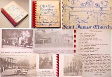 LITITZ PA ST.JAMES CHURCH COOK BOOK RECIPES history PHOTO school fire springs