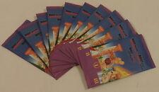 Asterix Lot 10 pochettes Asterix au Jeux Olympiques Match Cora