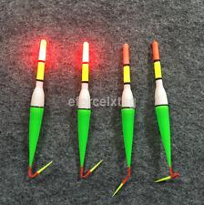 New Night Fishing Plastic Float Bobber Cork Red Flashing with LED Light UK