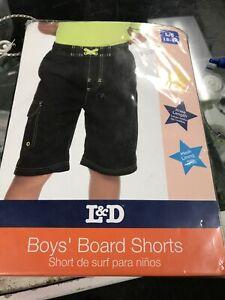 L&D Boys' Board Shorts Lg 12-14