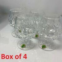 Vintage Waterford Crystal Lismore Baloon Brandy Glass in Box (4 PCS) 6223182600