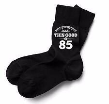 85th Birthday Gift Present Idea Boy Dad Him 1932 Men 85 Black Sock Accessories