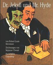 R.L. STEVENSON/Seymour Chwast: Dr Jekyll et Mr. Hyde. va avec signés graphique