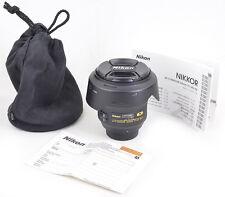 Nikon AF-S NIKKOR 24mm 1:1,4/G ED N (Nano Cristal Coat) Aspherical Wie NEU MINT!