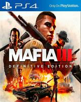 MAFIA III: Definitive Edition PS4 [Digital Download Secundaria] Multilanguage