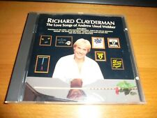 Richard Clayderman : The love songs of Andrew Lloyd Weber CD Excellent Condition