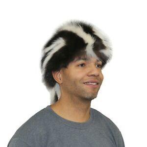 Glacier Wear Skunk Fur Daniel Boone Hat hts1820