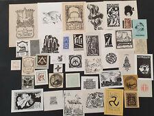 44)Nr.196- EXLIBRIS - PF Europäische Künstler - Konvolut 41 Blätter