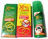 2 x Adulti & 2 Bambini Zanzara Fasce da Polso & 120ML Repellente Spray Pompa