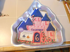 WILTON CAKE PAN ENCHANTED CASTLE 2105-2031 1998 insert Directions
