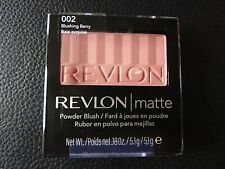 Revlon Matte Powder Blush - Blushing Berry #002 - Brand New / Sealed