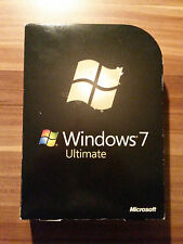 Microsoft Windows 7 ULTIMATE 32 / 64bit Vollversion deutsch Retailbox GLC-00205