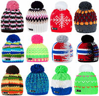 Men Women Unisex Beanie Hat Winter Wool Knitted Fleece Ski Hats Skate Cap NORDIC