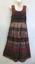 Plus Hippie Bohemian Indian Empire Festival Jaipuri Block Print Maxi Dress D