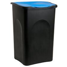Cubo de Basura de 50L con tapa extraíble Basurero para cocina 56x37x39cm