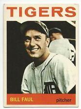 BILL FAUL 1964 Topps Baseball card #236 Detroit Tigers EX+