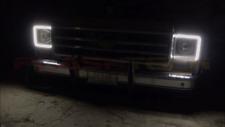 Chevy GM C/K Pickup Truck External Waterproof White Amber Switchback halos 73-79