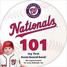 Collectable Washington Nationals 101 Board book