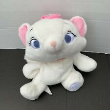 Disney Store Exclusive Plush MARIE Kitty Cat ARISTOCATS Floppy Stuffed Toy 10""