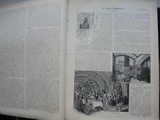 1899 Gartenlaube 11 / Wien Rathauskeller Gaststätte / Bismarck Sarkophag