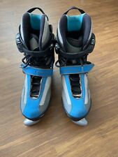 Landroller Terra 9 Roller Skates Blades Blue Gray Men's Size Us 5 Cesar Millan