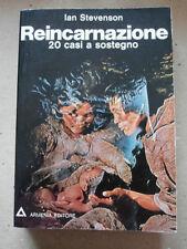 REINCARNAZIONE 20 CASI A SOSTEGNO - IAN STEVENSON - ARMENIA 1°ED 1975- B1
