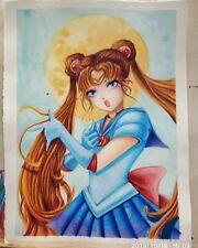EVALYN paint animelPretty Soldier Sailor Moon WATERCOLOR COLORPENCIL