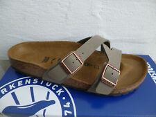 Birkenstock Yao Balance Mules Sandal Stone 1016351 New