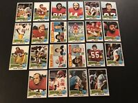 1975 Topps WASHINGTON REDSKINS Complete TEAM Set JOE THEISMAN Chris HANBURGER