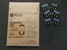 New 2 sets of Steelseries KINZU KANA Teflon Feet and and 6 OMRON D2FC-F-7N