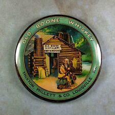 "Vintage Advertising Sign Fridge Magnet 2 1/4""  Old Boone Kentucky Whiskey Cabin"