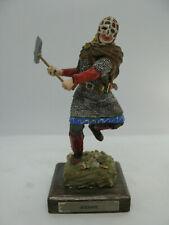 Etains du graal -  Le saxon figurine peinte - Moyen âge