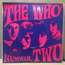 """THE WHO - NUMBER TWO EP - OZ AUSSIE 7"""" EP - SUPER RARE POLYDOR EPH 600 39"""