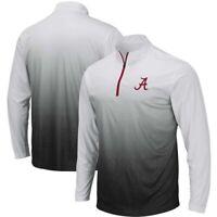 Alabama Crimson Tide Colosseum Magic Team Logo Quarter-Zip Jacket - Gray